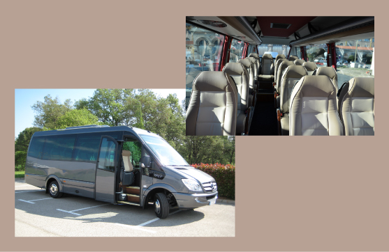 Mercedes Sprinter 16 places SUPER VIP